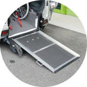 車椅子用スロープの調整・点検・修理